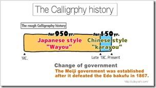 Japanese calligraphy experience wayou
